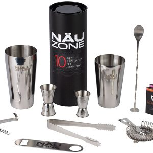 10 Piece Home Bartender Set