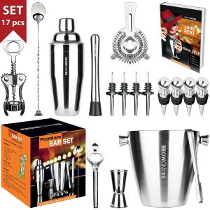 Bar Set 17-Pieces Jumbo Bartender Kit
