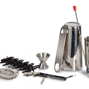 ChefLand 13 Piece Stainless Steel Bar Set