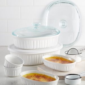 French White 10-Pc. Bakeware Set