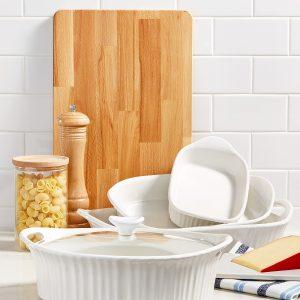French White Bakeware Essentials