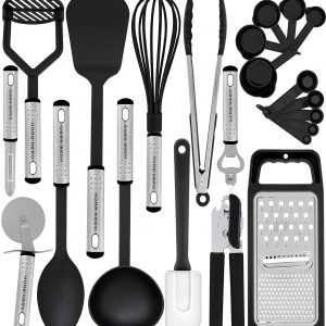 Kitchen Utensil Set – 23 Nylon Cooking Utensils