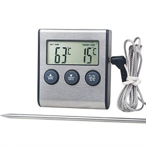 Large LCD Digital Cooking Food Meat Thermometer