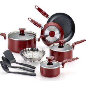 Nonstick Dishwasher Safe Cookware, 12 Pc. Set