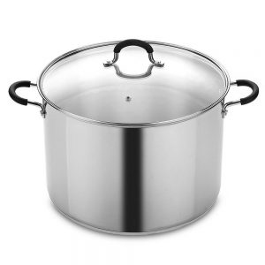 20 Qt. Stainless Steel Stockpot and Canning Pot with Lid
