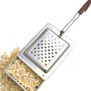 Stainless Steel Popcorn Popper Set
