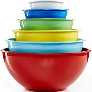 Martha Stewart Collection 6 Melamine Bowls